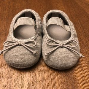 Macy's First Impressions cotton ballet flats